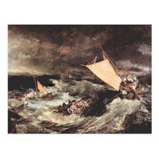 Joseph Mallord Turner - Shipwreck Postcard