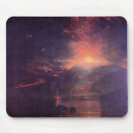 Joseph Mallord Turner - The eruption of volcano So Mouse Pads