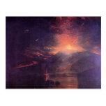 Joseph Mallord Turner - The eruption of volcano So Postcard