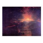 Joseph Mallord Turner - The eruption of volcano So Post Card
