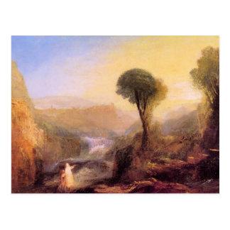Joseph Mallord Turner - Tivoli - Tobias and the En Postcard