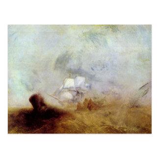Joseph Mallord Turner - Whalers Postcard