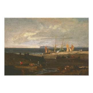 Joseph Mallord William Turner - A Scene on the Photo
