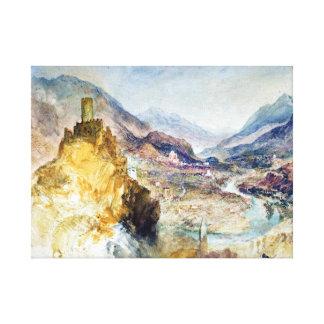 Joseph Mallord William Turner Chatel Argent Canvas Print