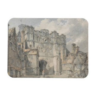 Joseph Mallord William Turner - Christ Church Gate Rectangular Photo Magnet