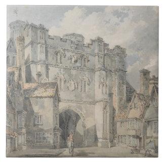 Joseph Mallord William Turner - Christ Church Gate Tile
