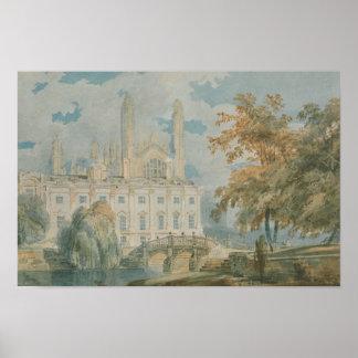 Joseph Mallord William Turner - Clare Hall Poster