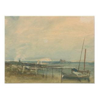 Joseph Mallord William Turner - Coast Scene Photo Art
