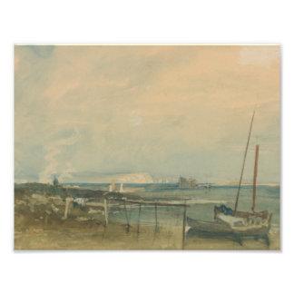Joseph Mallord William Turner - Coast Scene Photo Print