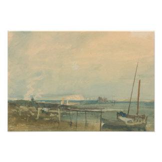 Joseph Mallord William Turner - Coast Scene Photograph