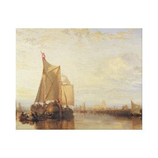 Joseph Mallord William Turner - Dort or Dordrecht Canvas Print