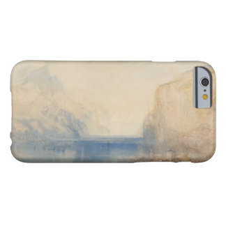 Joseph Mallord William Turner - Fluelen - Morning Barely There iPhone 6 Case