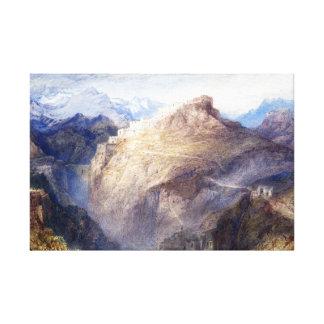 Joseph Mallord William Turner Fort of L'Essillon Canvas Print