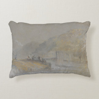 Joseph Mallord William Turner - Foul by God- River Accent Pillow