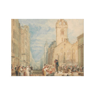 Joseph Mallord William Turner - High Street Canvas Print