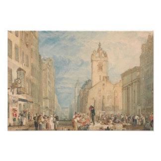 Joseph Mallord William Turner - High Street Photographic Print