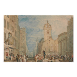 Joseph Mallord William Turner - High Street Poster