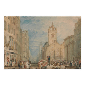 Joseph Mallord William Turner - High Street Poster