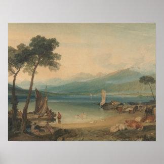 Joseph Mallord William Turner - Lake Geneva Poster