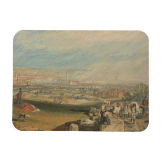 Joseph Mallord William Turner - Leeds Rectangular Photo Magnet