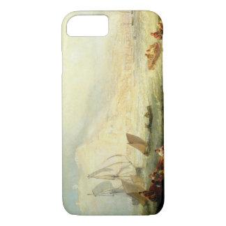Joseph Mallord William Turner - Line Fishing, Off iPhone 7 Case