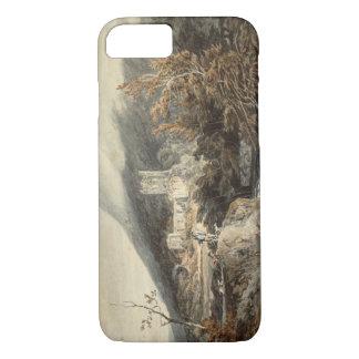 Joseph Mallord William Turner - Llanthony Abbey iPhone 7 Case