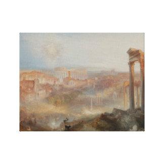 Joseph Mallord William Turner - Modern Rome Canvas Print