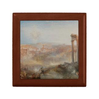 Joseph Mallord William Turner - Modern Rome Jewelry Boxes