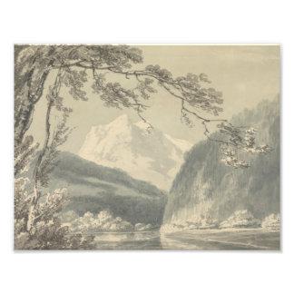 Joseph Mallord William Turner - Near Grindelwald Photo Print