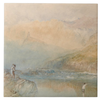 Joseph Mallord William Turner - On the Mosell Tile