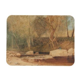 Joseph Mallord William Turner - On the Washburn Rectangular Photo Magnet