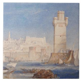 Joseph Mallord William Turner - Rhodes Ceramic Tile