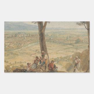 Joseph Mallord William Turner - Rome from Monte Sticker