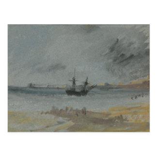Joseph Mallord William Turner - Ship Aground Postcard