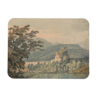 Joseph Mallord William Turner - Sir William Hamilt Rectangular Photo Magnet