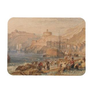 Joseph Mallord William Turner - St. Mawes, Cornwal Rectangular Photo Magnet