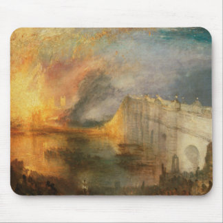 Joseph Mallord William Turner - The Burning of the Mouse Pad
