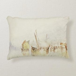 Joseph Mallord William Turner - The Sun of Venice Accent Pillow