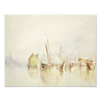 Joseph Mallord William Turner - The Sun of Venice Art Photo