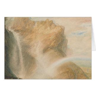 Joseph Mallord William Turner - Upper Fall Card