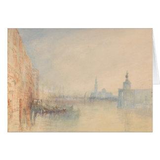 Joseph Mallord William Turner - Venice, The Mouth Card