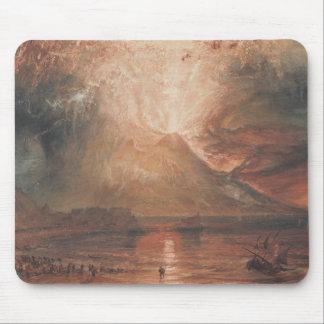 Joseph Mallord William Turner - Vesuvius Mouse Pad