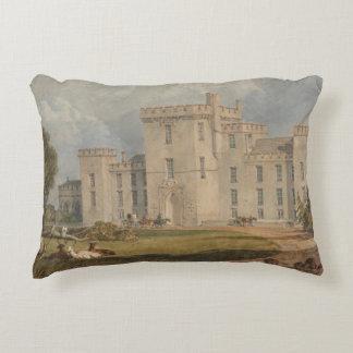 Joseph Mallord William Turner - View of Hampton Accent Pillow