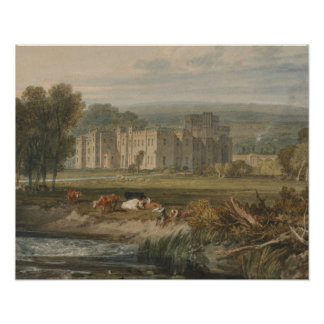Joseph Mallord William Turner - View of Hampton Poster