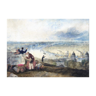 Joseph Mallord William Turner View of London Canvas Print
