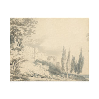 Joseph Mallord William Turner - Villa d'Este Canvas Print