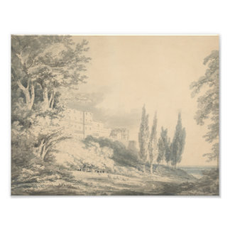 Joseph Mallord William Turner - Villa d'Este Photographic Print