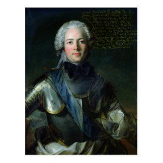Joseph-Marie  Duc de Boufflers Postcard