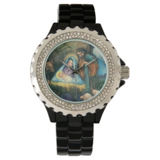 Joseph Mary Jesus Manger Watch