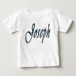 Joseph, Name, Logo, Babies White T-shirt